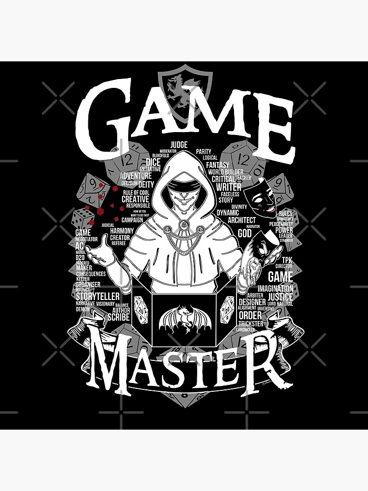 Game Master - White by Milmino