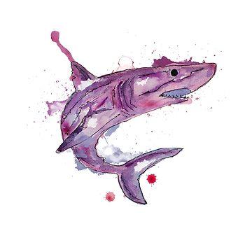 tiburon by pintarrajearte