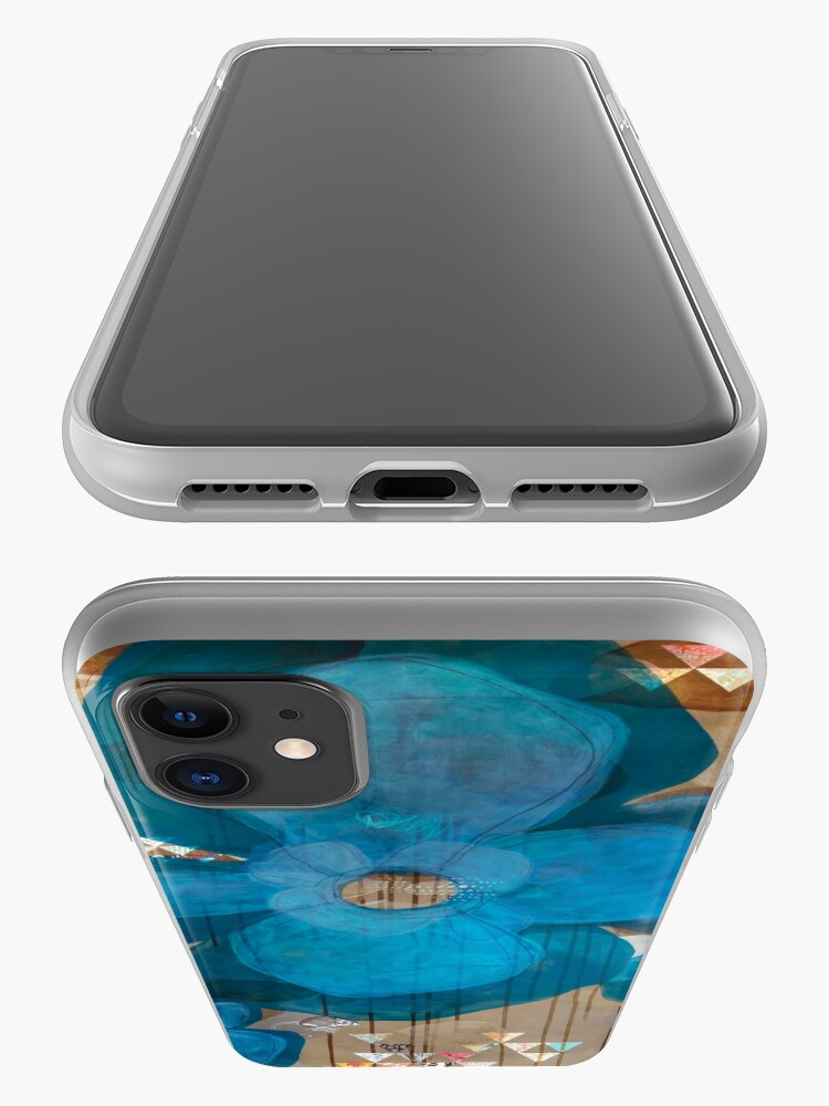 Alternate view of Fragmentary Blue iPhone Case & Cover