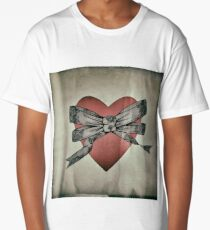Bow and heart Long T-Shirt