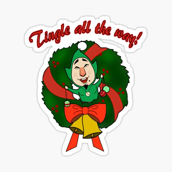 Tingle All the Way Sticker