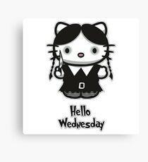 Hello Wednesday Canvas Print