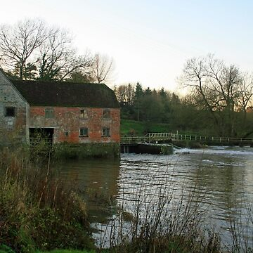 Stour Valley Way: The Old Mill, Sturminster Newton by RedHillDigital