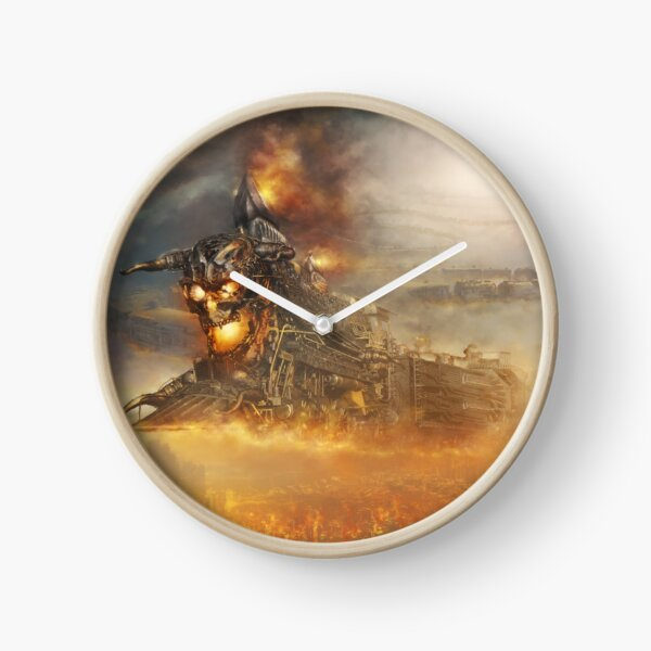 DEVILS TRAIN 2 Clock
