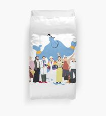 NO BACKGROUND Even More Minimalist Robin Williams Character Tribute Duvet Cover