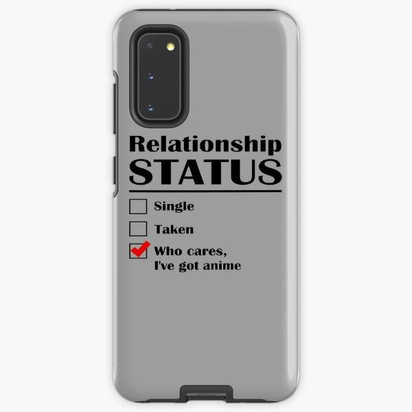 Relationship Status Anime Samsung Galaxy Tough Case