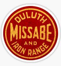 Duluth Missabe and Iron Range railroad USA Sticker