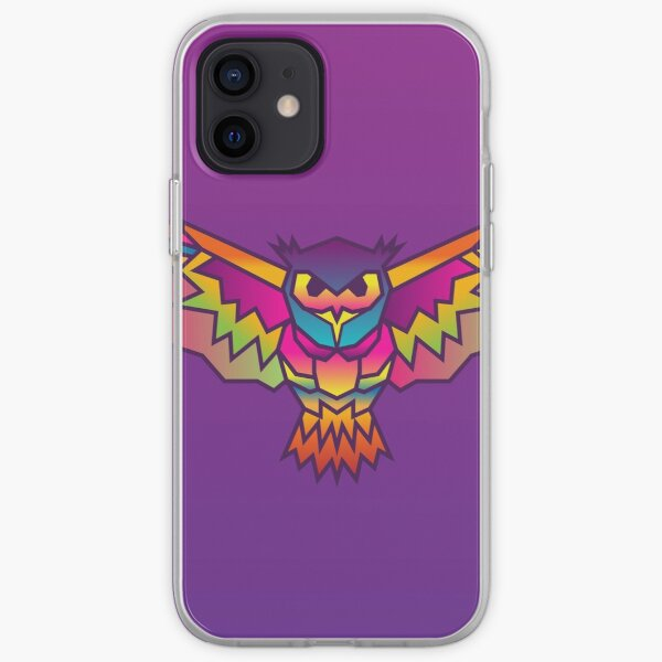 Polygonal Owl (Colored) iPhone Soft Case