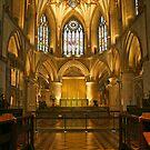 Tewkesbury Abbey by RedHillDigital