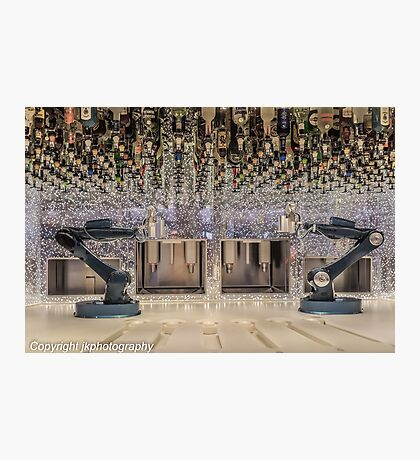 Bartending - Rise of the Machines! Photographic Print