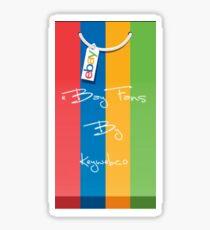 eBay Fans App by Keywebco  Sticker
