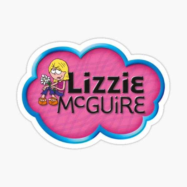 Lizzie McGuire Logo Sticker