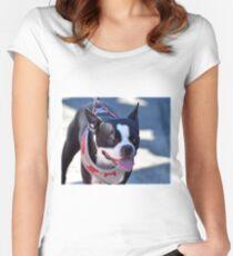 Ziggy's Friend Beanie Women's Fitted Scoop T-Shirt