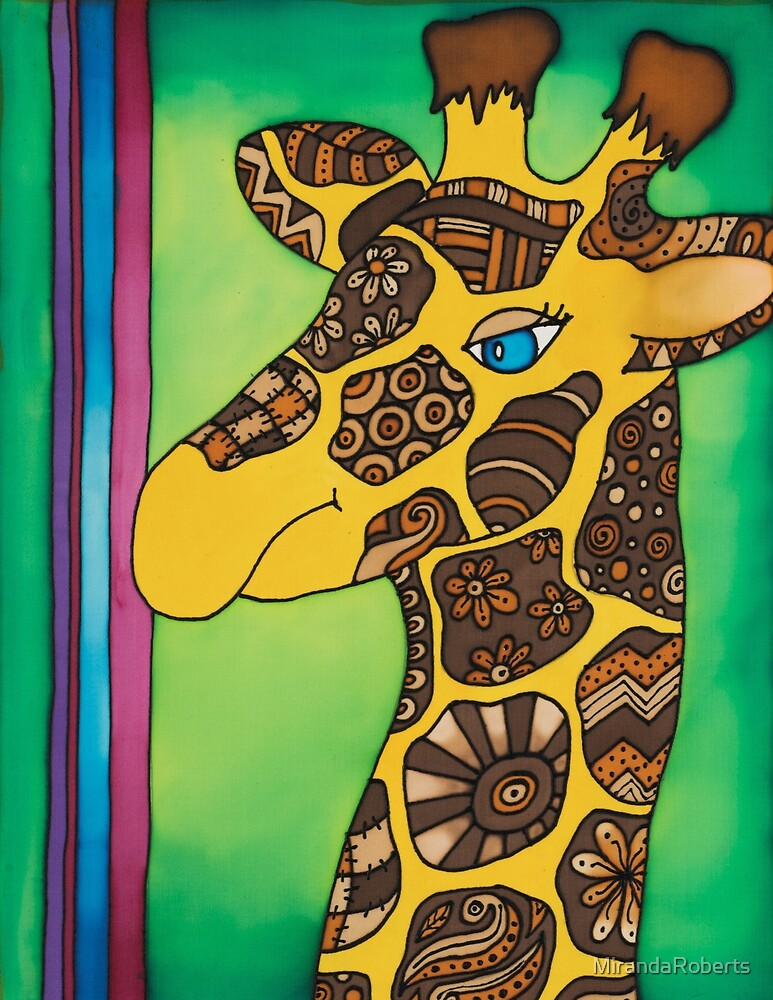 Get some giraffe gentleness into your life by MirandaRoberts