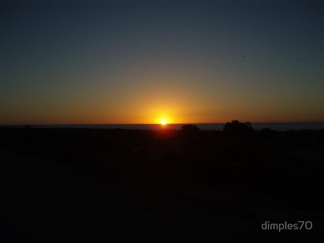 A Romancing Sunset by dimples70