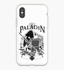 RPG Class Series: Paladin - Black Version iPhone Case