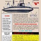 Polaris Nuclear Sub by zork40