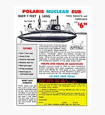 Polaris Nuclear Sub Photographic Print