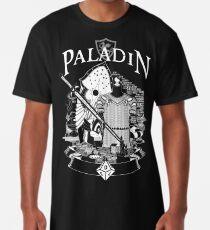 RPG Class Series: Paladin - Weiße Version Longshirt