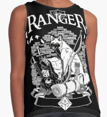 RPG Class Series: Ranger - White Version Contrast Tank
