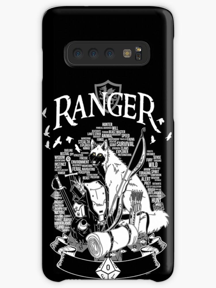 'RPG Class Series: Ranger - White Version' Case/Skin for Samsung Galaxy by  Milmino