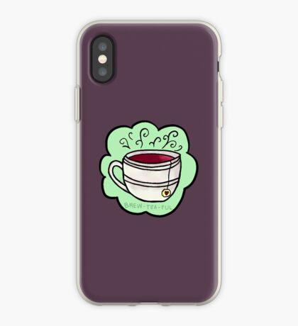 brew-tea-ful Vinilo o funda para iPhone