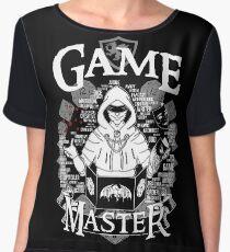 Game Master - White Chiffon Top