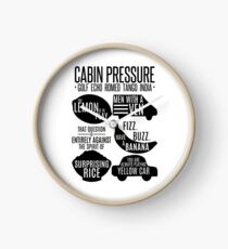 Cabin pressure moments  Clock