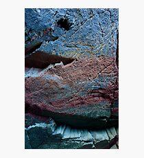 Natural Ocean Rock Texture  Photographic Print