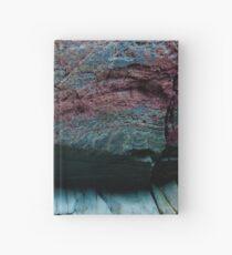 Natural Ocean Rock Texture  Hardcover Journal