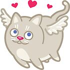 Funny Cupid Cat Love - Cat Gifts for Cat Lovers! by Banshee-Apps