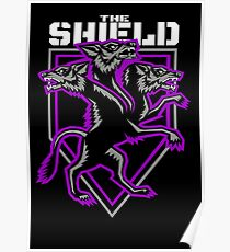 The Shield Hounds Purple Poster