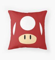 Mario Mushroom Throw Pillow