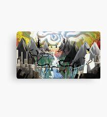 Samurai Jack Landscape Canvas Print