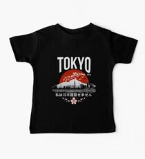 Tokyo - 'I don't speak Japanese': White Version Baby Tee