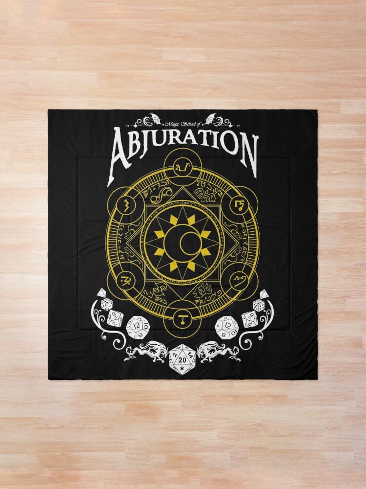 Alternate view of Abjuration - RPG Magic School Series : White Comforter