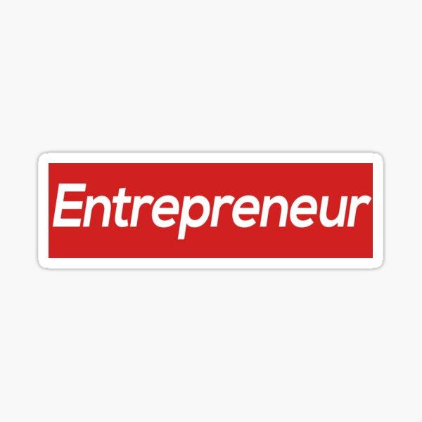 Entrepreneur Design Sticker