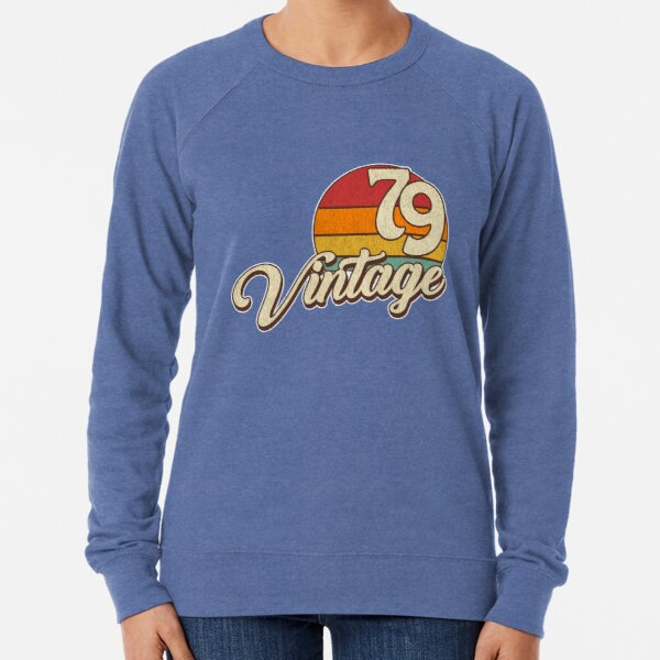 Vintage Birthday 1979 Lightweight Sweatshirt