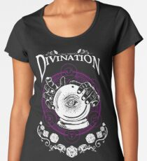 Divination - D&D Magic School Series : White Women's Premium T-Shirt