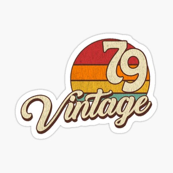 Vintage Birthday 1979 Sticker