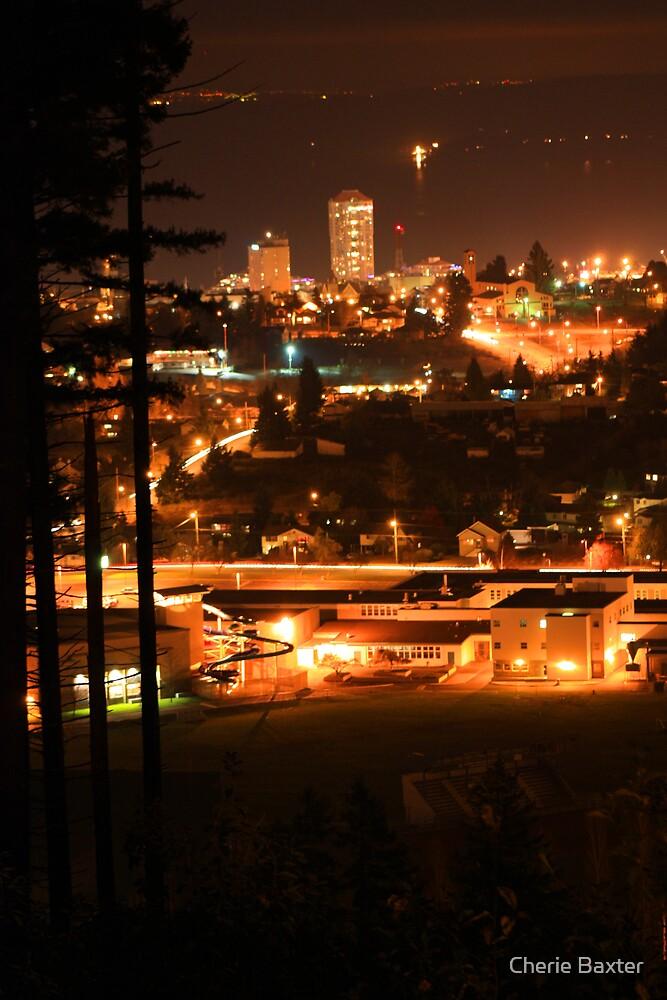 Nanaimo at Night by Cherie Baxter