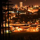 Nanaimo at Night by Cherie Baxter
