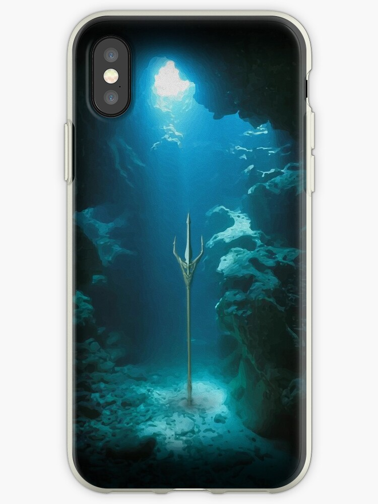 'The Sleeping Trident' iPhone Case by Anthony Segrist