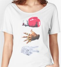 Roshambo Rock Paper Scissors Any Mike T-Shirt Women's Relaxed Fit T-Shirt