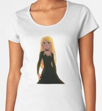 Sophie, Witch of the Woods Beyond (No Writing) Women's Premium T-Shirt