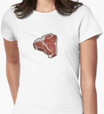 STEAK! Women's Fitted T-Shirt