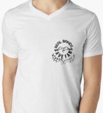 Real Bands Save Fans Men's V-Neck T-Shirt