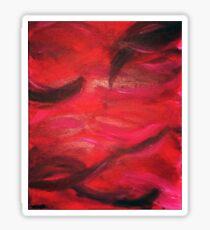 Sea Of Red Sticker