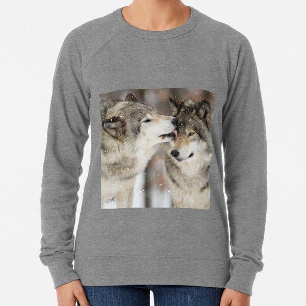 Wolf Kisses Lightweight Sweatshirt