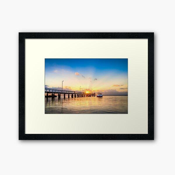 Wellington Point Framed Art Print